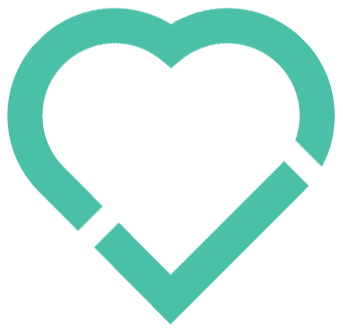 logo of a heart signifying values